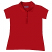 POLO-KREKLS RED B&C SAFRAN PURE/WOMEN (180 g/m2)