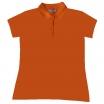 POLO-KREKLS PUMPKIN ORANGE B&C SAFRAN PURE/WOMEN (180 g/m2)