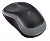 PELE LOGITECH M185, BEZVADU, PELĒKA, Wireless Mouse Grey